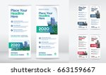 city background business roll... | Shutterstock .eps vector #663159667