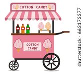 vector flat illustration of... | Shutterstock .eps vector #663173377