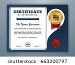multipurpose modern... | Shutterstock .eps vector #663200797