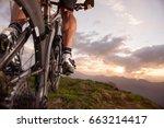 bike feeling   mountain bike... | Shutterstock . vector #663214417