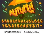 "font ""autumn"". vector set... 