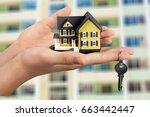 house. | Shutterstock . vector #663442447