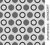 geometric line monochrome
