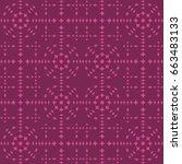 seamless pattern. modern...   Shutterstock . vector #663483133