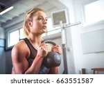 Fitness Woman Workout With...