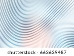 colorful ripple background | Shutterstock . vector #663639487