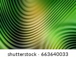 colorful ripple background | Shutterstock . vector #663640033