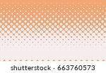 halftone background. pop art... | Shutterstock .eps vector #663760573