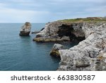 Rock Formations On The Black...