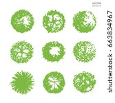vector set of tree plan for...