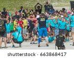 planica  slovenia  06.17.2017 ...   Shutterstock . vector #663868417