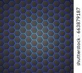 honeycombs abstract 3d...   Shutterstock .eps vector #663879187