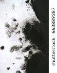 black ink conveyed over white...   Shutterstock . vector #663889387