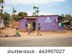 lilongwe  malawi   september 05 ... | Shutterstock . vector #663907027