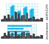 city info graphic vector | Shutterstock .eps vector #663912193
