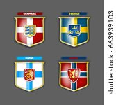vector flags and coats of arms...