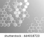 abstract background of... | Shutterstock .eps vector #664018723