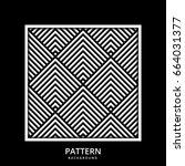 background pattern stripe... | Shutterstock .eps vector #664031377