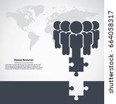 human resources  | Shutterstock .eps vector #664058317
