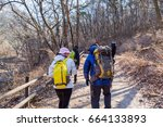 seoul  south korea  february... | Shutterstock . vector #664133893