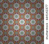 seamless floral pattern can be...   Shutterstock .eps vector #664142377