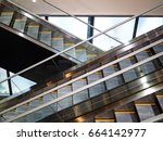 escalator | Shutterstock . vector #664142977