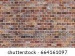 seamless brick wall texture   Shutterstock . vector #664161097