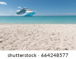 summer tropical cruise vacation ... | Shutterstock . vector #664248577