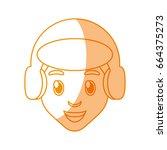 boy face cartoon | Shutterstock .eps vector #664375273