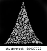 christmas trees | Shutterstock . vector #66437722
