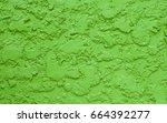 mortar cement wall rough...   Shutterstock . vector #664392277