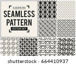 abstract concept vector... | Shutterstock .eps vector #664410937