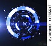 futuristic hud target ux ui...