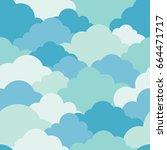 illustration vector of sky...   Shutterstock .eps vector #664471717