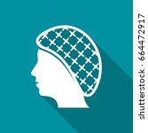 vector hairnets must be worn... | Shutterstock .eps vector #664472917