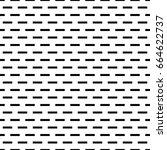 seamless surface pattern design ... | Shutterstock .eps vector #664622737