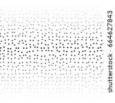 chaotic seamless texture.... | Shutterstock .eps vector #664627843