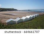 editorial image of white beach...   Shutterstock . vector #664661707