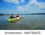 11th may 2014  don det  laos  ... | Shutterstock . vector #664720423