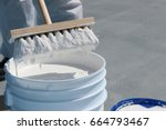 roof coating | Shutterstock . vector #664793467