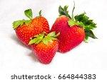 isolated fresh  reddish  sweet...   Shutterstock . vector #664844383
