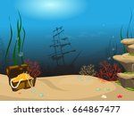 Underwater World Background....