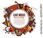 Live Music Concert Poster Of...