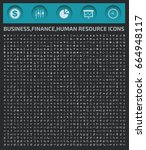 business and finance icon set...   Shutterstock .eps vector #664948117