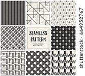 abstract concept vector... | Shutterstock .eps vector #664952767