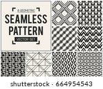 abstract concept vector... | Shutterstock .eps vector #664954543