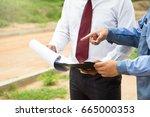 building consultant. engineer...   Shutterstock . vector #665000353