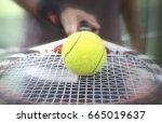 tennis. | Shutterstock . vector #665019637