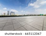 panoramic skyline and buildings ... | Shutterstock . vector #665112067