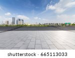 panoramic skyline and buildings ... | Shutterstock . vector #665113033